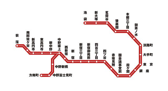 「丸ノ内線」の画像検索結果